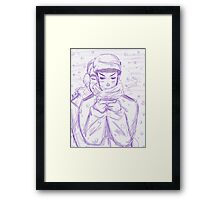 Snow Days Framed Print