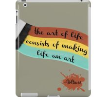 The art of life iPad Case/Skin