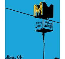 Akron, OH by HalfPintPrint