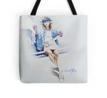 """Fitness"" by Sara Moon Tote Bag"