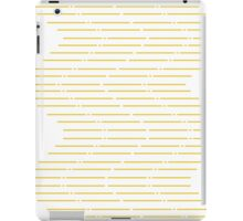 Parallel lines iPad Case/Skin