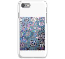 Blue Circle Mosaic iPhone Case/Skin