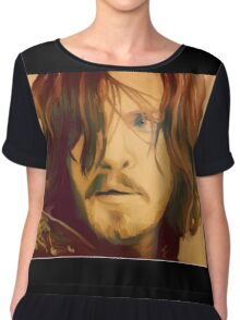 Athos from The Musketeers Series Three  Chiffon Top