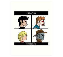 PREACHA Art Print