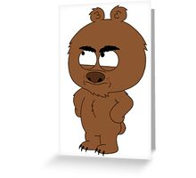 Brickleberry - Malloy Greeting Card