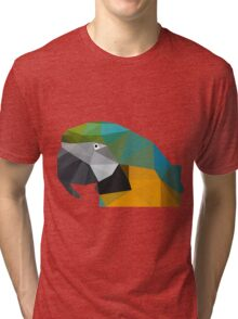 Paradise of Parrots Tri-blend T-Shirt