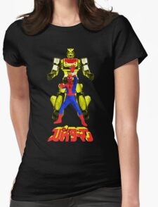 Supaidaman!  CHANGE LEOPARDON!!! (Version 3) Womens Fitted T-Shirt