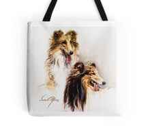 """Friends"" by Sara Moon Tote Bag"