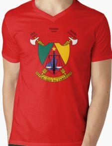Cameroon Coat Of Arms Mens V-Neck T-Shirt