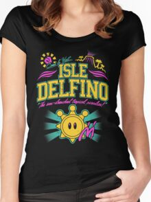 Isle Delfino Women's Fitted Scoop T-Shirt