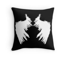 Fallen (white) Throw Pillow