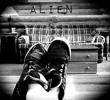 Alien by m1k3ybLuE