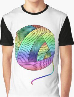 Rainbow Yarn Ball! Graphic T-Shirt