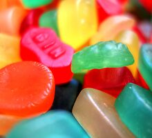Sweets 02 - Wine Gums | GIN by Pete Edmunds