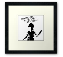 "Bioshock - Little Sister ""Three Too Many!"" Framed Print"