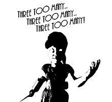 "Bioshock - Little Sister ""Three Too Many!"" Photographic Print"