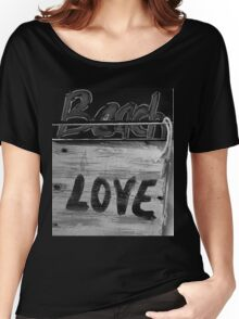 Beach LOVE bw2 Women's Relaxed Fit T-Shirt