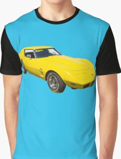 1975 Corvette Stingray Muscle Car Graphic T-Shirt