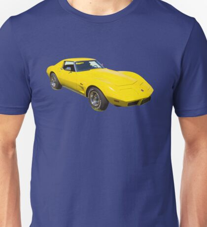 1975 Corvette Stingray Muscle Car Unisex T-Shirt