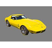 1975 Corvette Stingray Muscle Car Photographic Print