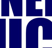 St Louis Rams - NINERS SUCK - Blue text Sticker