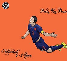Netherlands 5-1 Spain VAN PERSIE by Ben Farr