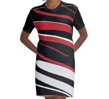 ''Shh'' Kiss Me Graphic T-Shirt Dress