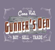 Come Visit Gunners Den - Dark Kids Clothes