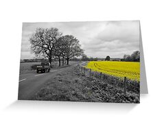 Cheshire | Rapeseed Field 01 Greeting Card