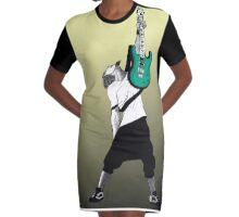 AKR Graphic T-Shirt Dress