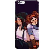 Tifa and Jessie iPhone Case/Skin