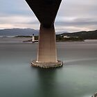 Skye Bridge at Sunset by Maria Gaellman