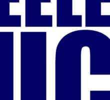 Tennessee Titans - STEELERS SUCK - Dark Blue Text Sticker