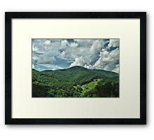 Great Smoky Mountain Trail Framed Print