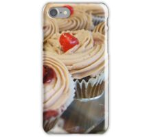 Cupcakes with a cherry on top iPhone Case/Skin