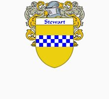 Stewart Coat of Arms / Stewart Family Crest Unisex T-Shirt