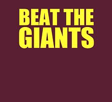 Washington Redskins - BEAT THE GIANTS - Yellow text Unisex T-Shirt