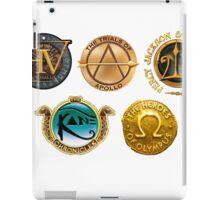 Rick Riordan Logo's iPad Case/Skin