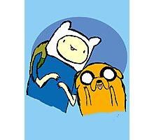 Finn and Jake - Adventure time Photographic Print