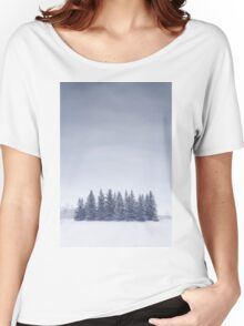 Winterscape Women's Relaxed Fit T-Shirt