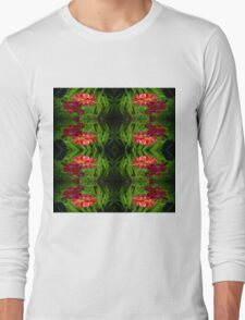 Flowers of red Long Sleeve T-Shirt