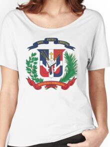 Dominican Republic Coat Of Arms Women's Relaxed Fit T-Shirt
