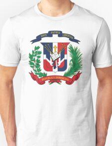 Dominican Republic Coat Of Arms Unisex T-Shirt