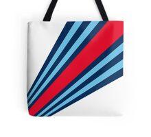 Martini Stripes  Tote Bag