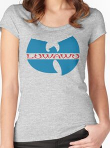 The Wu - Timothe Luwawu (Sixers colors) Women's Fitted Scoop T-Shirt