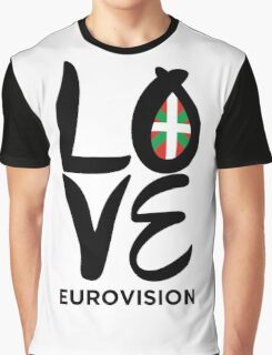 LOVE Eurovision [Basque Country] Graphic T-Shirt
