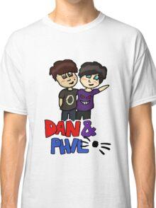 dan and phil. Classic T-Shirt