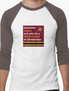 Tower of Terror  Men's Baseball ¾ T-Shirt