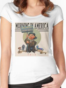 Morning In America Women's Fitted Scoop T-Shirt