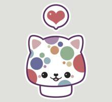 Cute Mushroom Cat by sugarhai